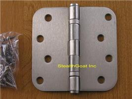 "Satin Nickel 4"" X 4"" Ball Bearing Hinge US15 - $5.99"