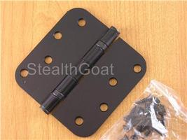 "Oil Rubbed Bronze 4X4"" Ball Bearing Hinge US10B - $5.99"