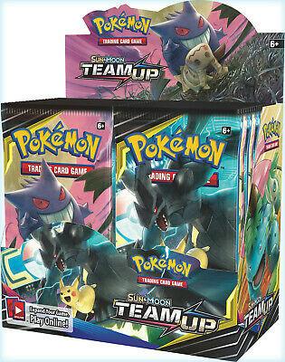 Pokemon TCG Sun & Moon Team Up + Sun & Moon Base Set Booster Box Bundle
