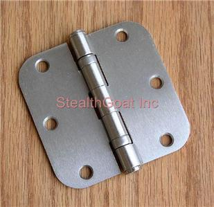 "3 1/2"" Satin Nickel 3.5"" Ball Bearing Hinges US15"
