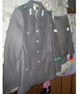 Unissued East German Border Guard Uniform and Hat Small size - $75.00