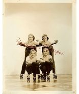 MGM Roller SKATING Chorines 1934 Movie Ball ORG... - $24.99
