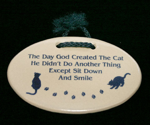 Plaque cat1