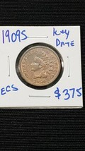 1909S Indian Head Cent Penny  image 1