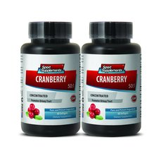 Cranberry detox cleanse - CRANBERRY CONCENTRATED 252Mg with Vitamins C a... - $24.95