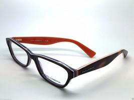 Dolce & Gabbana DG 3175 2765 Havana/ Blue/ Orange New Eyeglasses 54mm 16... - $81.20