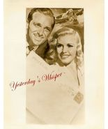 Ginger Rogers Doug Fairbanks Jr. Original Ad Ar... - $14.99