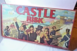 Vintage Castle Risk Board Game Family Gaming Daring Strategy and conquest  - $32.02