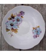 Old Regency Bone China Saucer Flowers #RE3001 - $4.00