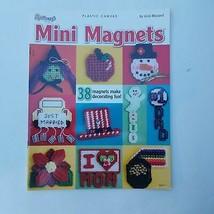 Plastic Canvas Mini Magnets by Vicki Blizzard - $11.63