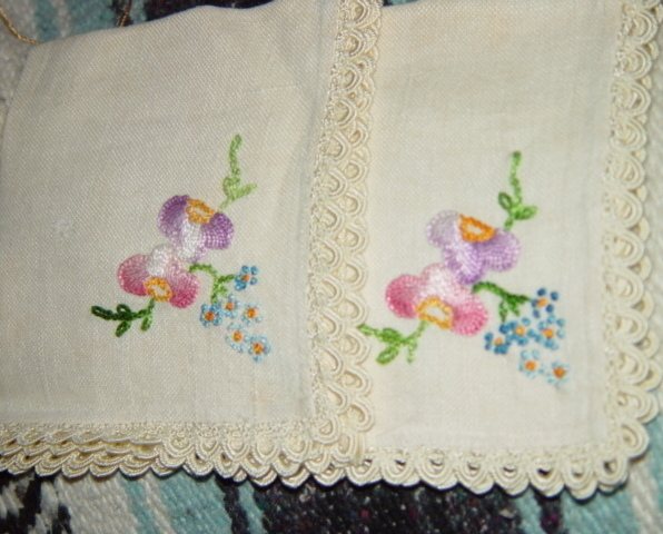 Primary image for Set Of 4 Light Cream Embroidery Napkins