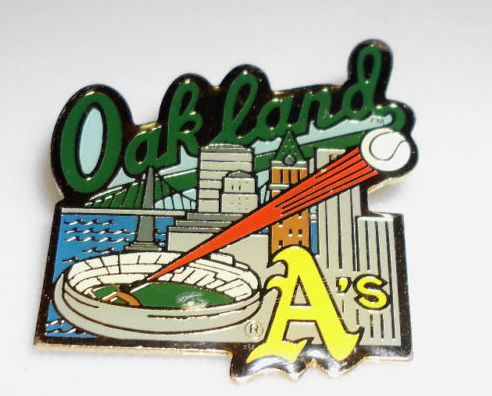 Oakland A's 1991 Major League Baseball Collectible Pin