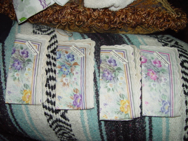 Set Of 4 Napkins By Leou Ol Orly Paris 100% Cotton
