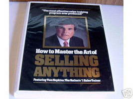 Tom Hopkins - How To Master The Art of Selling Anything - 12 Tapes + 12 ... - $79.88