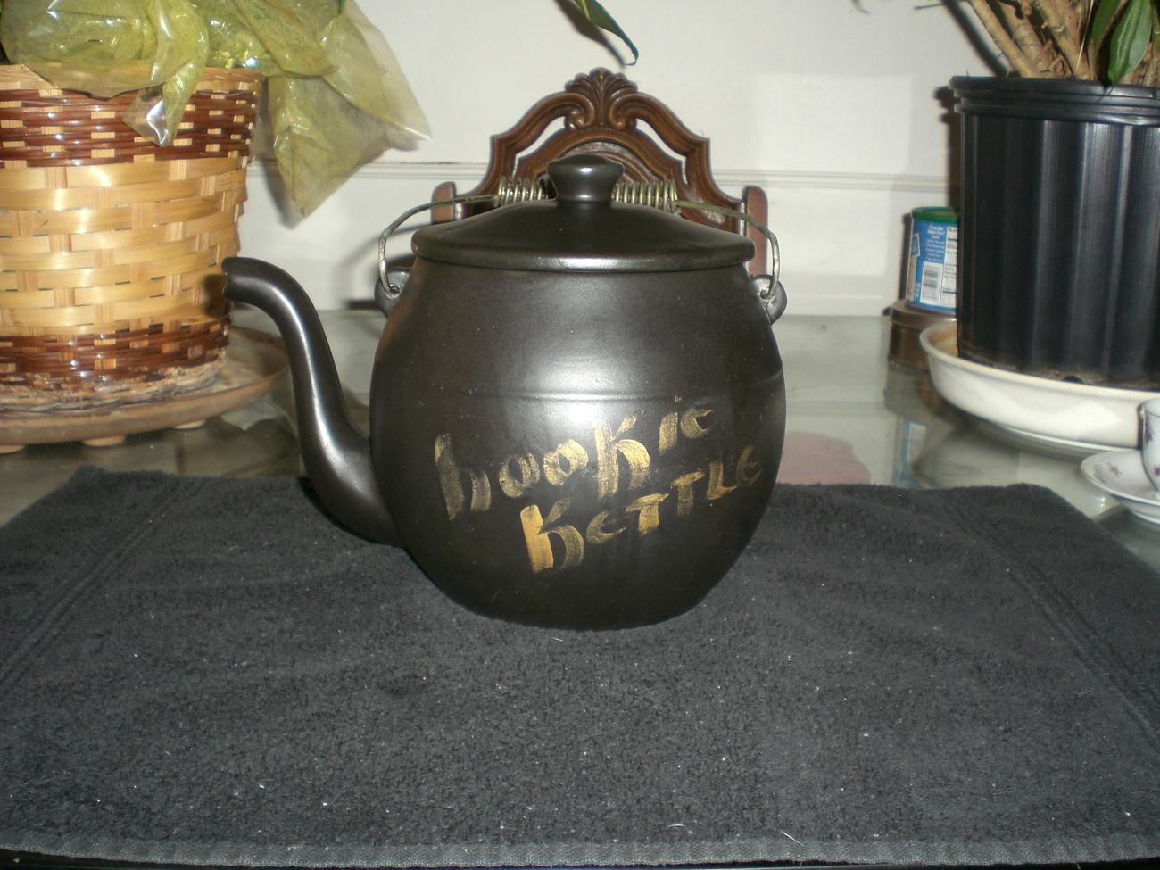 Vintage McCoy Kookie Kettle Cookie Jar