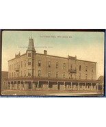 The ELWOOD HOTEL  New London Wis. Early 1900s    9.683 - $6.00