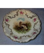 Old Bavaria Marked Quail Game Plate - $19.95