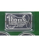 Dec.Dr Peeper's Nude 1 oz .999 pure silver  air-tite 1REFCO - $49.88