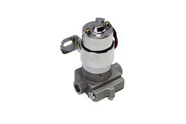 A-Team Performance 30-155 Electric Inline Fuel Pump 12V 155 GPH at 14PSI Chrome