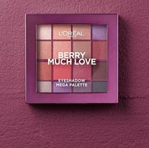 L'OREAL Paradise Eyeshadow Palette Berry Much Love 17g - NEW Sealed - $9.45