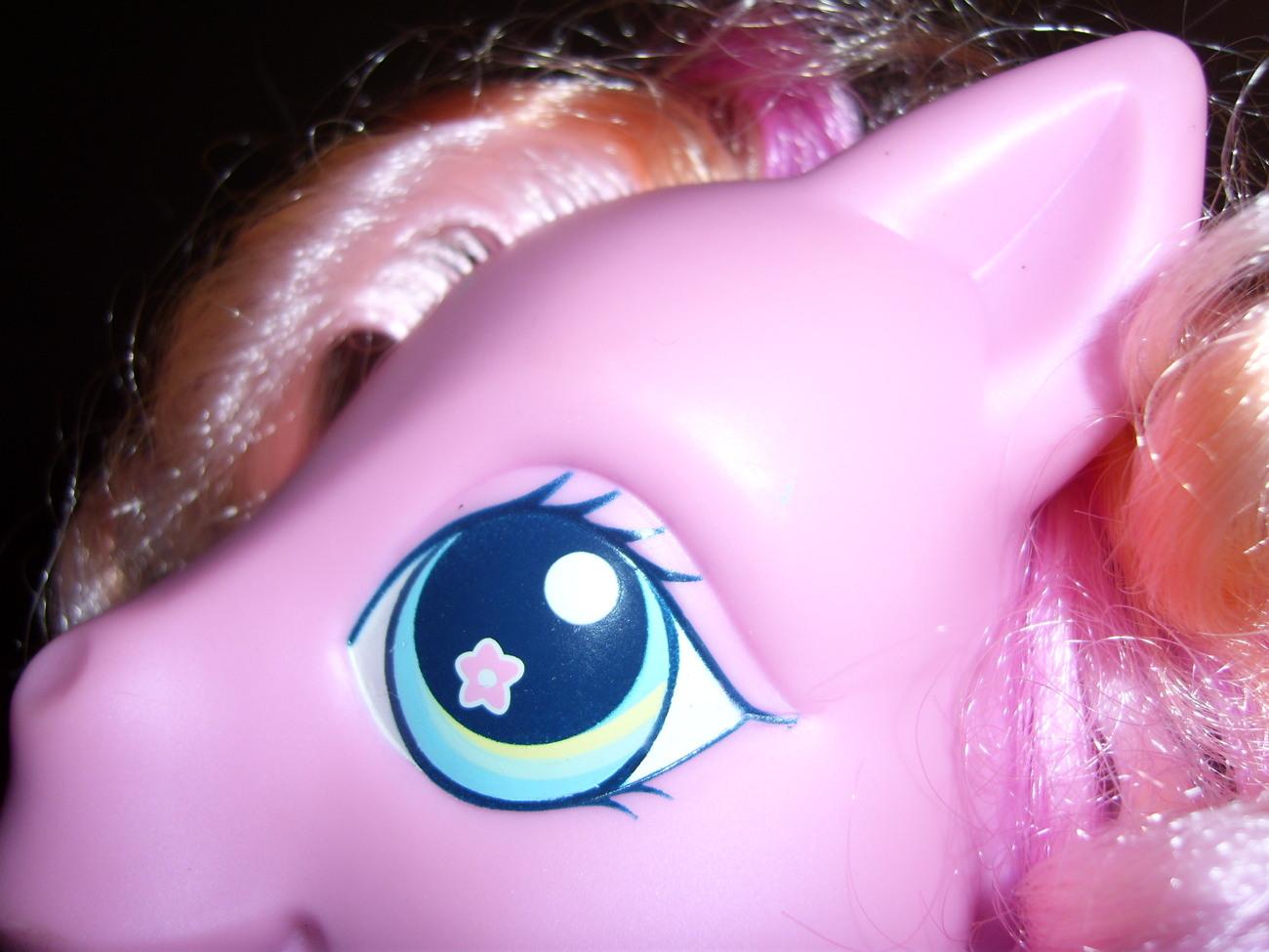 My Little Pony G3 So Soft Baby Rose Blossom plush
