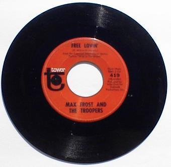 Max Frost 45 RPM PSYCH Record Shape Of Things to Come