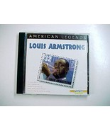 American Legends Louis Armstrong CD - 1996 Delta - Jazz- What a Wonderfu... - $6.99