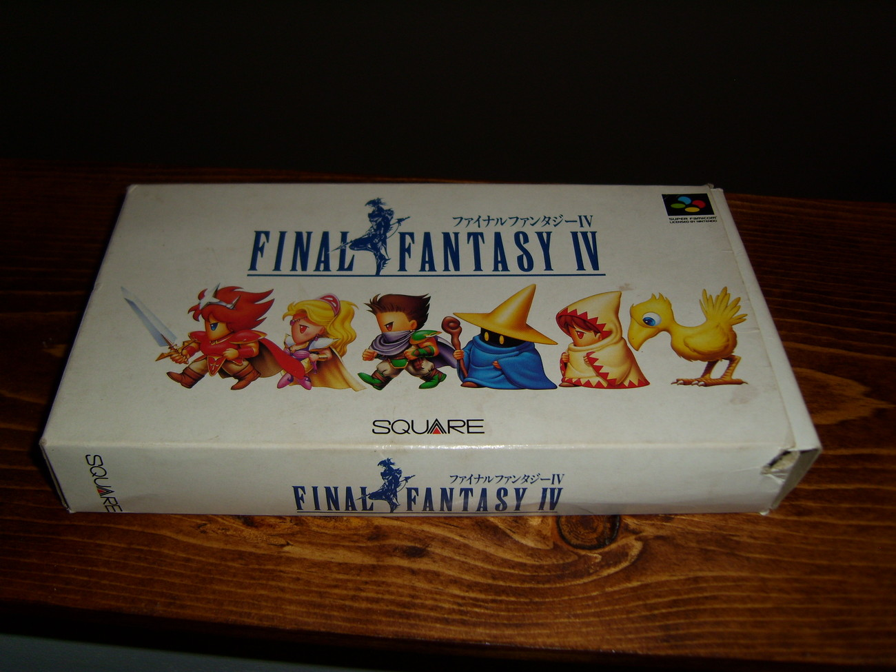 Final Fantasy IV Super Famicon Game JAPAN only complete