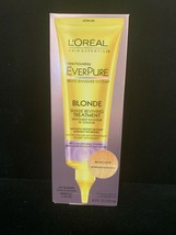 L'Oreal EverPure Blonde Shade Reviving Rinse Out Treatment Brass Banisher 4.2 OZ - $23.76