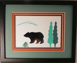Quilled Black Bear - $175.00