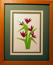 Quilled Bird of Paradise - $175.00