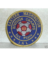 Eastern Washington Division Champs IAL Soccer 89 Patch  - $5.79
