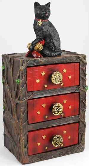 Primary image for Witch's Familiar Altar Cupboard New