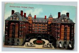 Vintage 1912 Advertising Postcard Portland Hotel Portland Oregon - $15.81