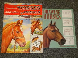 How to Paint Horses and Other Animals and Drawing Horses - $4.00