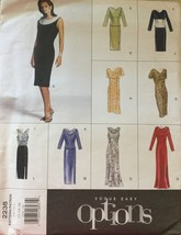 Vogue 2238 Misses' Easy Options Dresses, Tops or Skirts Sizes 12-14-16 - $9.99