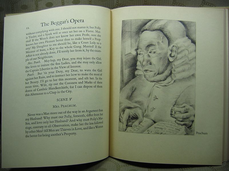 The Beggar's Opera by John Gay The Heritage Press