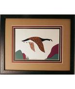 Quilled Canada Goose in Flight - $175.00