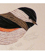 Quilled Chickadee in Spruce - $175.00