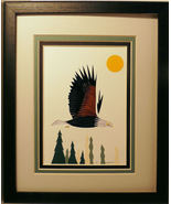 Quilled Bald Eagle - $175.00