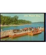 Lake Northfork Ferry Arkansas Missouri 40s woody 3.376 - $6.00