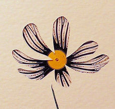 Quilled Daisy - $175.00