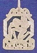 Sterling Silver Zodiac Necklace - AQUARIUS