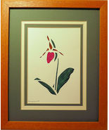 Quilled Pink Lady's Slipper - $175.00
