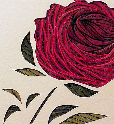 Quilled Rose