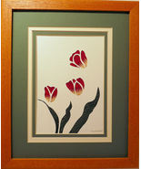 Quilled Tulips - $175.00