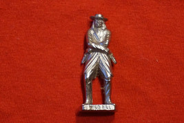 Kinder Egg Surprise Toy Scame Metal Figure Wild Bill 1992 from Poland - $9.81