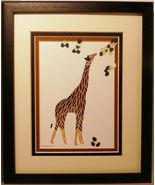 Quilled Giraffe - $175.00