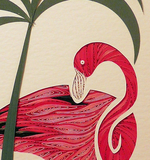 Quilled Flamingo
