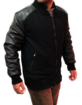 New Handmade Men Leather Sleeves Fabricated Superb Jacket, Leather jacket for me - $189.00